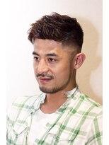 ジュノ ヘアー(JUNO HAIR)外国人風バーバースタイル