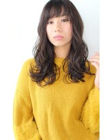 ジル ヘアデザイン ナンバ(JILL Hair Design NAMBA)【大人可愛いセミロング】おフェロ濡れ髪ウエーブ