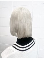 【OREO. Customer 】White Blond #ラベンダーカラー