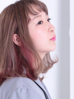 ピースヘアサロン(PEACE hair salon)の写真/SNSで話題!!カラーの施術の際に発生する『活性酸素』を解消して、キレイになれる★