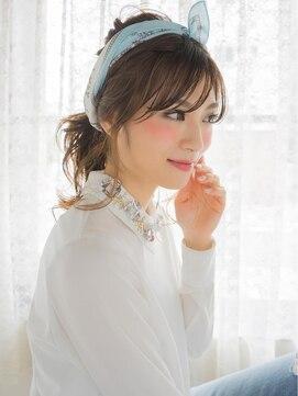 オジコ(ojiko)☆月曜日営業☆ojiko.大人可愛いスカーフポニー