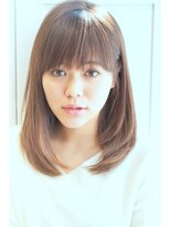 リル ヘアーデザイン(Rire hair design)【Rire-リル銀座-】エンジェルストレートミディ♪
