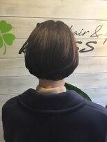 ブレス ヘアアンドスパ 湘南台(bless hair spa)楽したい大人女性の為の 楽チンボブ
