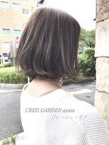 クレドガーデン 綾瀬店(CRED GARDEN) グレージュ × ボブ