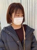 ネオヘアー 東向島店(NEO Hair)春カラーオレンジピンク