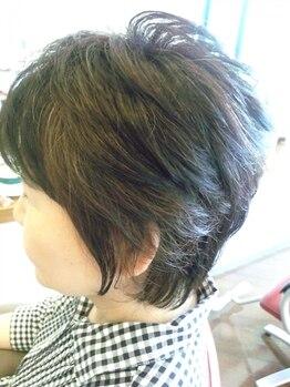 びようしつ あとりえの写真/お客様の髪や頭皮のことを第一に考えた≪プレシャスパーマ≫ツヤのある憧れのパーマスタイルを実現します!