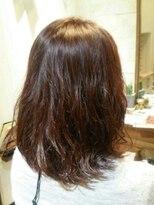 アイビーヘアー(IVY Hair)ミディアムパーマスタイル
