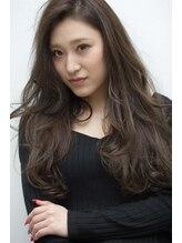 ヘアーメイク アンソメット(HAIR MAKE)〔UN SOMMET〕ヌードカラー イルミナカラー+ハイライト¥8,400