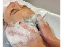 ウルーウール ヘアーアンドリラクゼーション(HEUREUX HEURE hair&relaxation)の雰囲気(炭酸南国スパ。約20~30分の間、心からリラックスして頂けます)