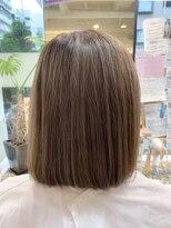 髪質改善トリートメント、カット