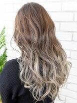 【AUBE HAIR】ベージュ_グラデーションカラー