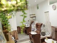クアトロ グランシュ 千葉店(QUATRO×GranCieux)の雰囲気(ネイル&アイラッシュサロンGranCieuxを店内に併設しております)