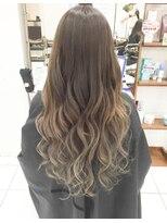 デイズ(days)アッシュベージュグラデーションカラーブリーチ ブランジュ美髪