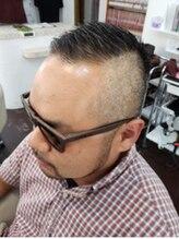 ヘアスタジオ クリブ(HAIR STUDIO CRIB)刈り上げ ワイルドスタイル