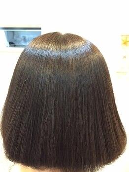マナ ヘアリゾート(Mana hair Resort)の写真/髪に優しいオーガニックカラーでツヤのある綺麗な発色が続く♪お肌や頭皮が敏感な方にもオススメ◎