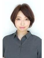 ソレイユ(Soleil)【表参道】Soleil菊地<ツヤツヤショートボブスタイルで小顔>