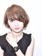 ヘアサロン セロ(Hair Salon SERO)【SERO】ななめバングとひし形シルエットの王道ショートボブ☆