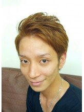 ナナマルヘアー(nanamaru hair)爽やかワイルドボブ風アップバンク