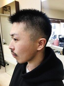 ヘアー フォーシーズンズ(Hair Four Seasons)の写真/清潔感は、ひげ・眉が重要なポイント!理容室ならではの巧みなシェービングでワンランク上の印象へ!