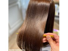 ブレスヘアーデザイン(BLESS HAIR DESIGN)の雰囲気(東日本初《美革ストレート認定講師》のいるメーカー認定サロン☆)