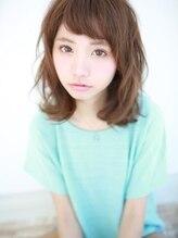 アグ ヘアー レオ 勝川店(Agu hair leo)ラフ可愛☆ミディウェーブ