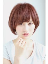 ヘアーメイク リアン 新田辺店(Hair Make REAN)マルサラショートボブ