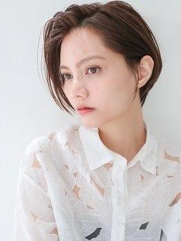 ヒールセンガワ(heel SENGAWA)の写真/【仙川】頭の形や骨格、髪質に合わせて、あなたに一番似合うショートに♪圧倒的な技術力が人気◎