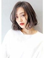 ヘアサロンガリカアオヤマ(hair salon Gallica aoyama)『 デザインカラー × 毛束感 』外国人風 ミニマムボブ☆