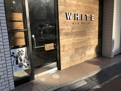 ホワイト ヘアーデザイン(white. hair design)の写真