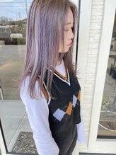 ヘアー アトリエ アンジー(Hair Atelier Angee)ヘア カラー