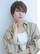 ヘアー ミッション 心斎橋店(hair Mission)サイドパート丸みショート☆【堂園知里】