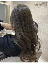 フローレス バイ ヘッドライト 三鷹店(hair flores by HEADLIGHT)抜け感ウェーブ×ナチュラルハイライト