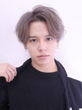 アルバム シンジュク(ALBUM SHINJUKU)ウェットスパイラルマッシュショートレイヤーかき上げヘア_46491