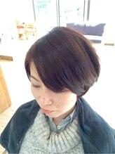 クープヘア(Coupe hair)大人女子ショートボブ