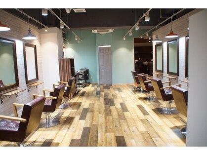 ニースヘアギャラリー 上野御徒町店(Neece hair gallery by across)の写真