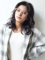 LuTa吉祥寺☆オリーブグレージュ×セミウェットウェーブ