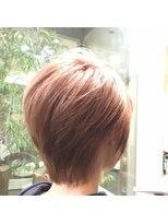 ガーデン ヘアー ワーク(garden hair work)桜colorショート