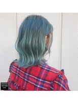 ヘアメイクミワ(HAIR+MAKE MIWA) ice blue