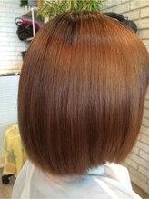 ヘアー アドヴァント アラジン(Hair Advent ALADDIN)ブリーチ毛の縮毛矯正で潤艶