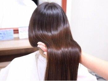ヘアーパッション(Hair Passion)の写真/これからの季節に♪うねり改善効果バツグン!フォルムコントロールストレートパーマ☆
