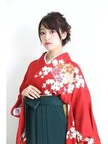 卒業式!袴&ヘアセット