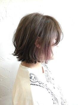 アトート(atoto)の写真/《空気感×立体感》カラー!厳選した薬剤で髪のダメージは最小限に!いつまでもツヤめくカラーをあなたへ☆