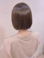ネオヘアー 東向島店(NEO Hair)切りっぱなしボブ×オン眉