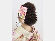 大阪ガーデンパレス ビューティサロンローズ美容室の雰囲気(結婚式場内美容室スタッフが行います!アップスタイル¥3,780~)