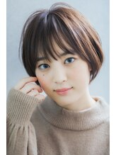 リル ヘアーデザイン(Rire hair design)【Rire-リル銀座-】☆簡単スタイリング☆ナチュラルショートボブ