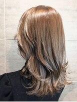 ナナナパレナ 梅田店(nanana parena)季節問わず人気なベージュ*髪質改善サロンの潤い艶髪カラー