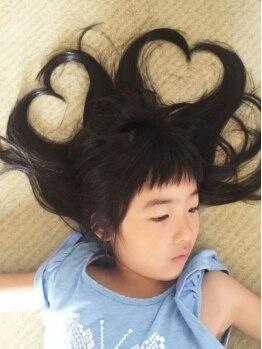 トモズヘアデザイン(Tomo's Hair Design)の写真/★口コミにも注目★ママも思いっ切りおしゃれ&キレイを楽しもう!!お子様同伴歓迎♪キッズスペース有☆