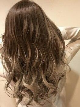 ヘアーフィックス リュウアジア 越谷店(hair fix RYU Asia)の写真/コンセプトは引力☆人を引きつけるカラー誕生☆触り心地が格別!色持ち抜群!大注目の《アドミオカラー☆》