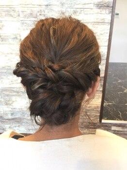 フェリックス(FELIX)の写真/結婚式やイベント、お出かけのときにも☆特別な日のヘアセットにこだわりたいときは《FELIX》にお任せ♪