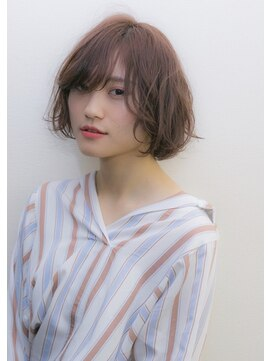 ココヘアアンドスパ(COCO Hair&SPA)ニュアンスカールのショートボブ